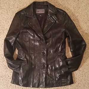 Bromley Collection Jackets & Coats - EUC {Bromley} leather jacket sz s